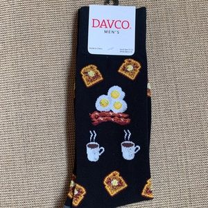 Davco Underwear & Socks - NWT DAVCO Men's ☕️ Coffee/Breakfast Socks